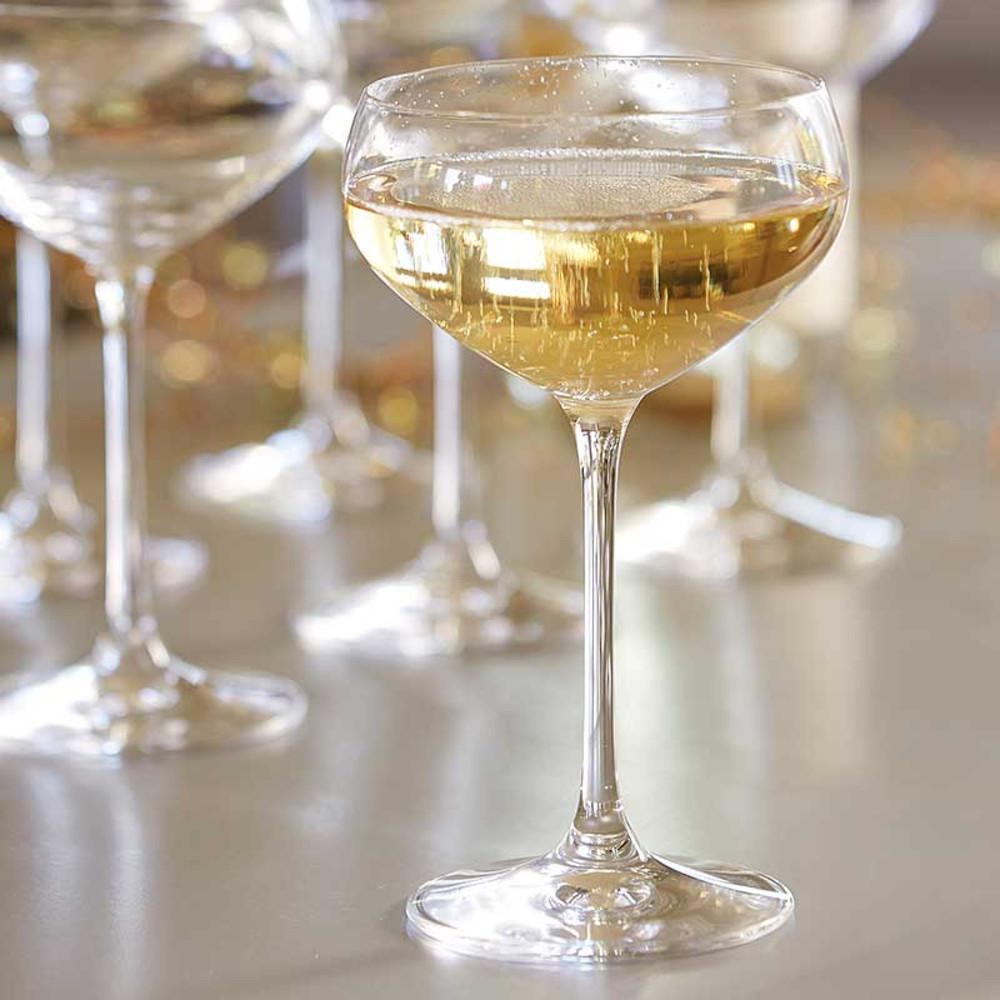 spiegelau vg champagne coupe 6 stems the wine kit. Black Bedroom Furniture Sets. Home Design Ideas