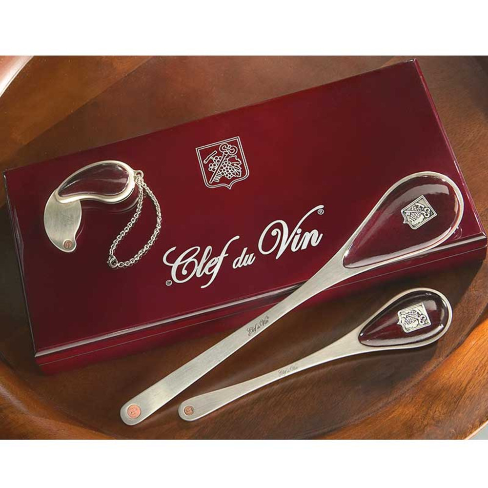 Clef du Vin 3 Piece Elegance Set - The Wine Kit