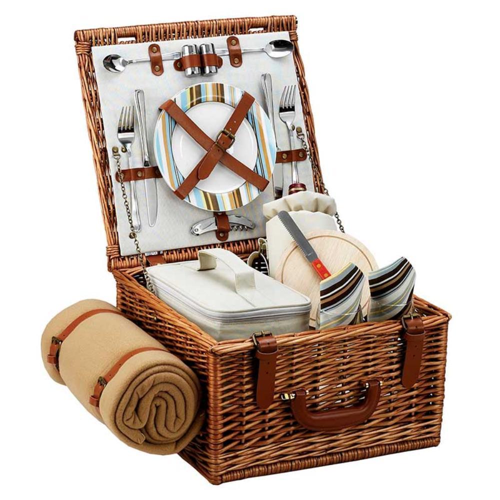 Picnic Basket Kit : Picnic basket for two the wine kit