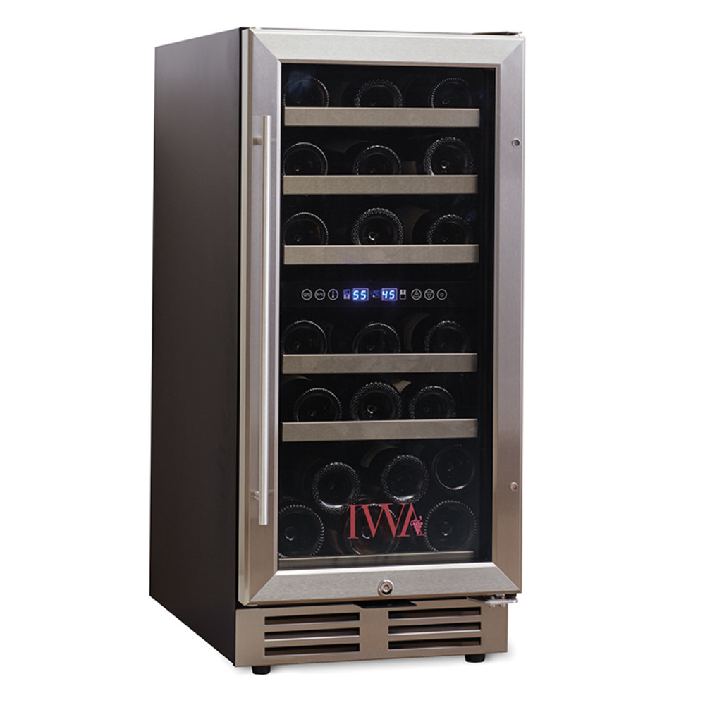 Wine Cooler Loft 250 Dual Zone 30 Bottle The Wine Kit